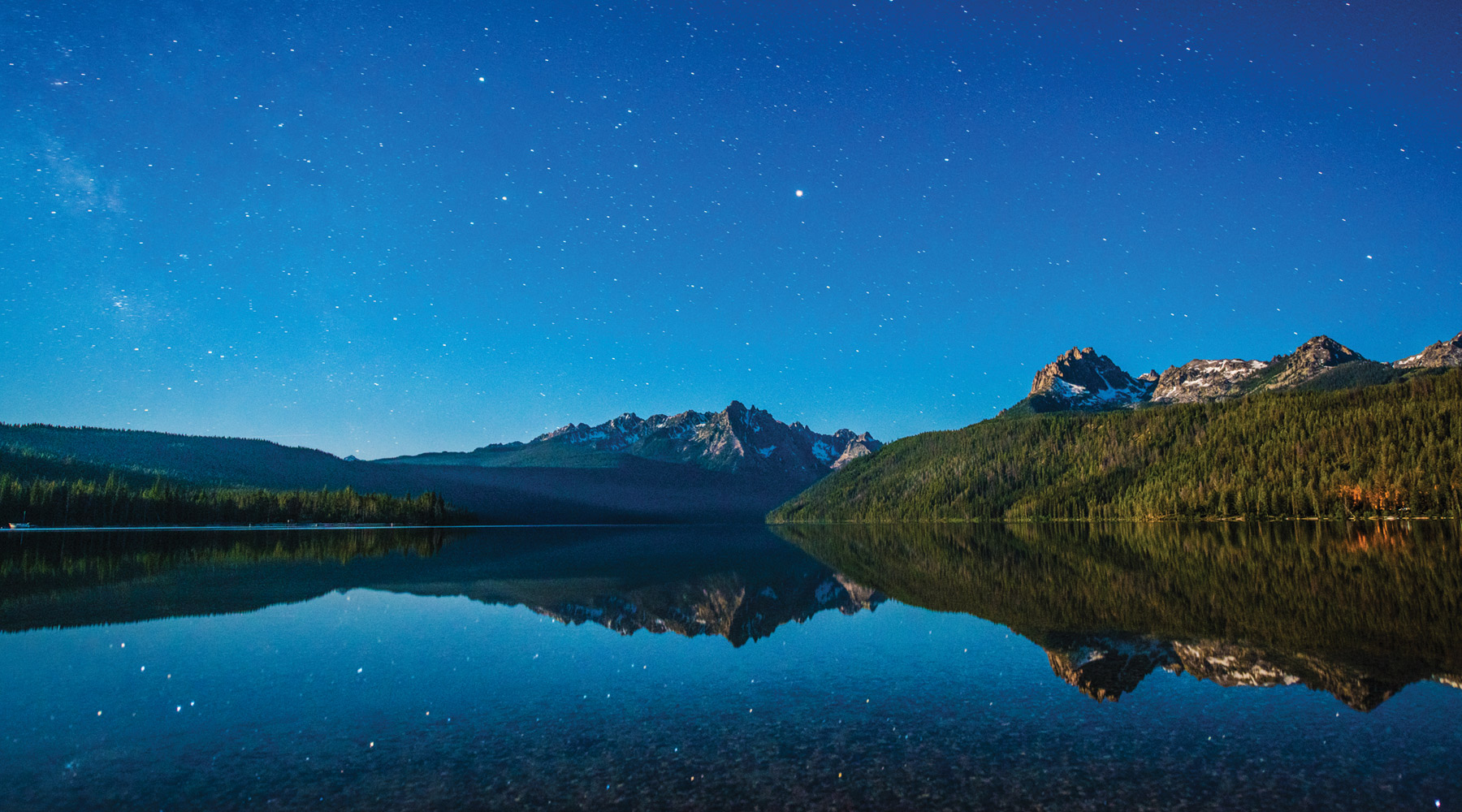 Redfish Lake, Stanley. Photo Credit: Idaho Tourism