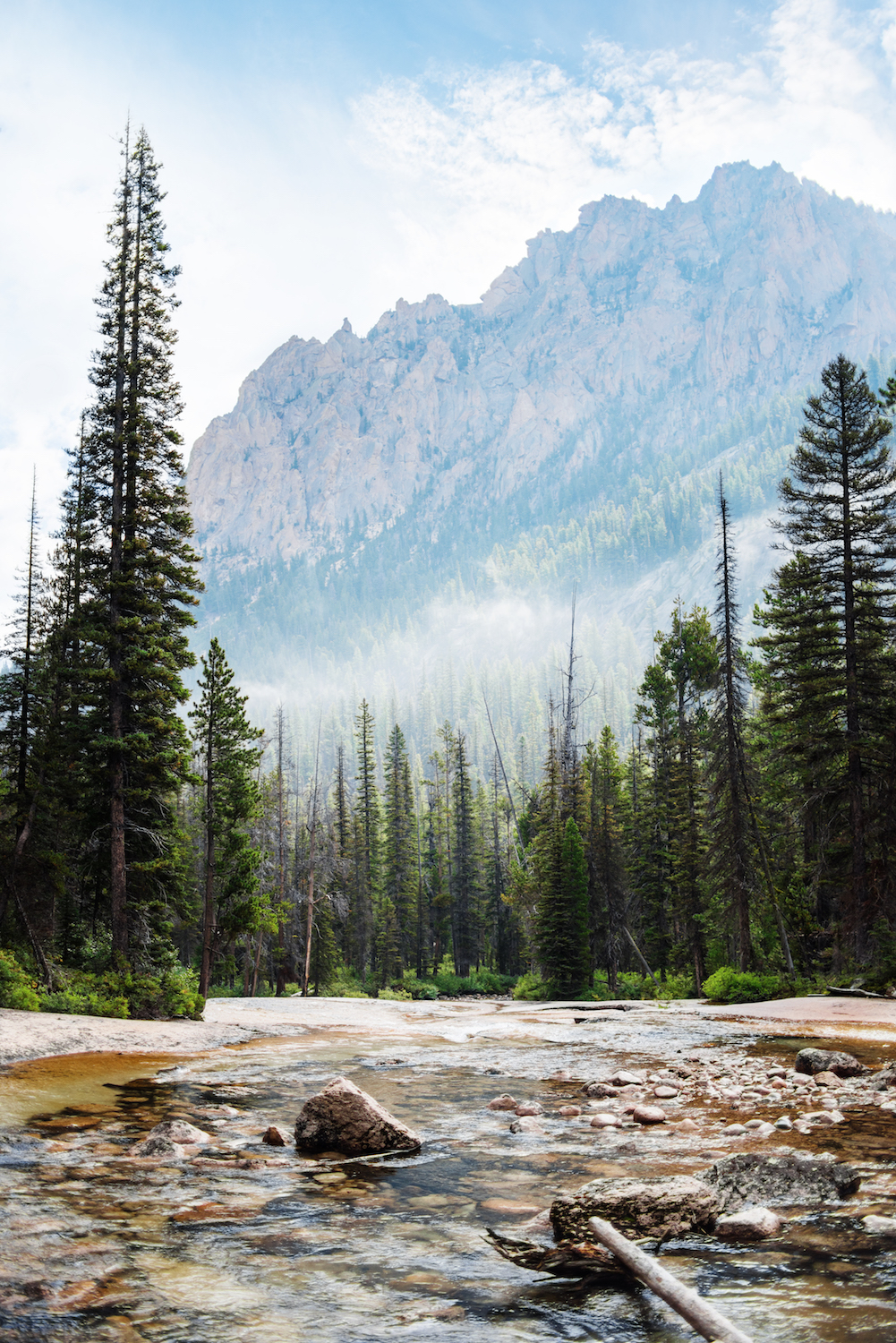 Sawtooth Mountains, Stanley, Idaho. Photo Credit: Idaho Tourism